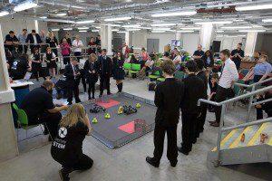 Robot Challenge gets under way