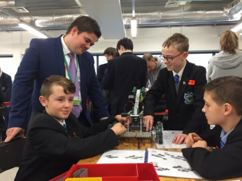 MerseySTEM Robotics Challenge: Wirral Heat – St Mary's win final place!