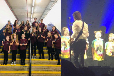LIPA Youth Choir perform with Paul McCartney: Can you spot our Mini-STEMmer?