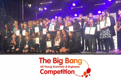Young North West Scientists & Engineers Triumph at The Big Bang UK Competition!