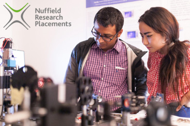Nuffield Research Placements Increase Access to Higher Education
