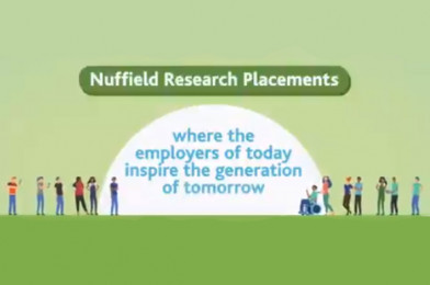 Employer Videos: Nuffield Research Placements