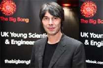 Professor Brian Cox Big Bang Fair MerseySTEM