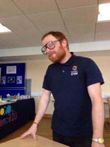 Tim Chemistry at Work day MerseySTEM