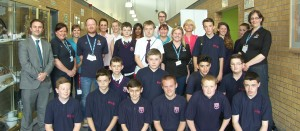 MerseySTEM Big Bang Fazakerley High School Group
