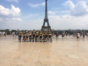 Finish in Paris
