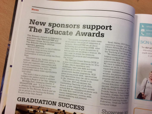 educate awards merseystem magazine