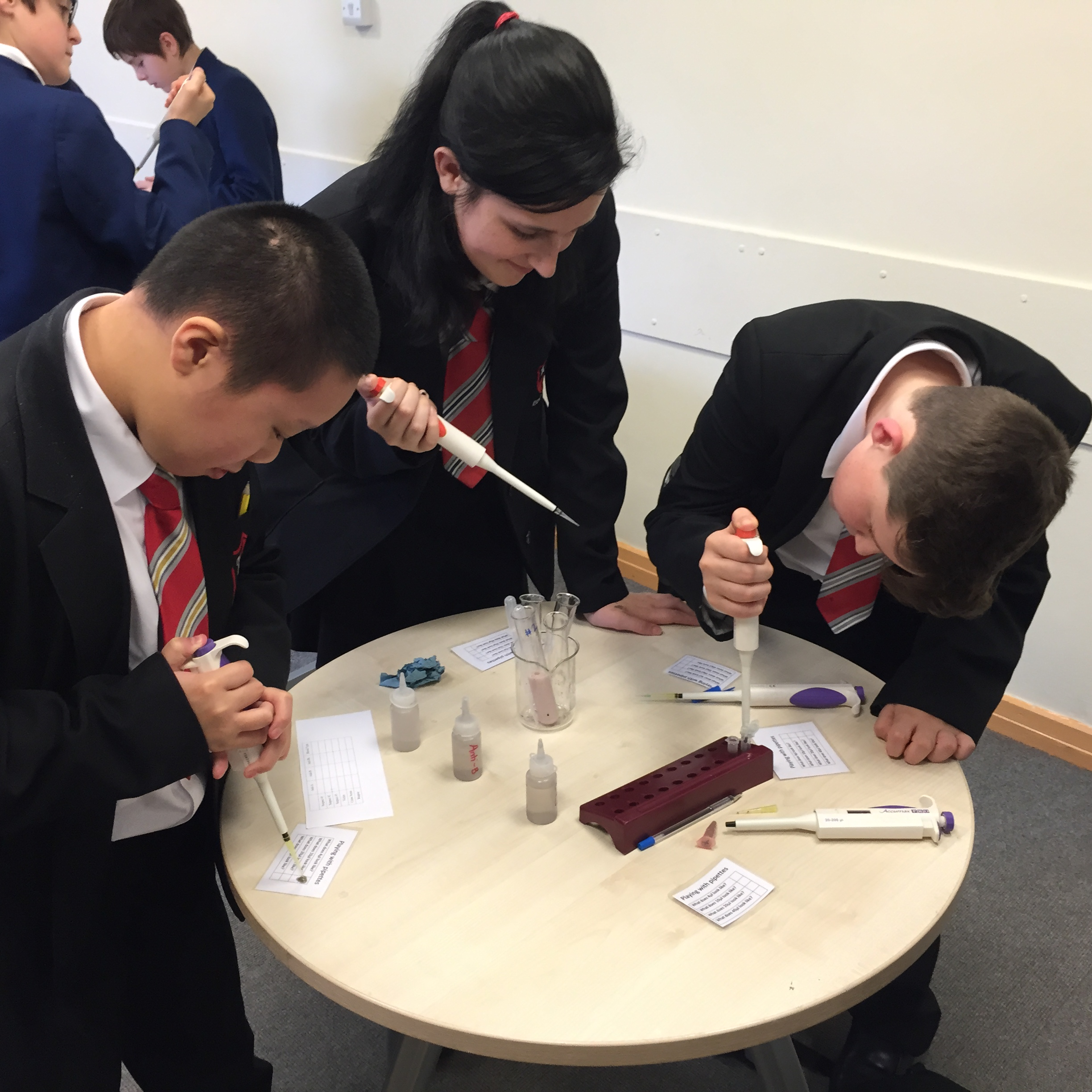 Stem Schools Uk: MerseySTEM Chemistry At Work Event: October 2015