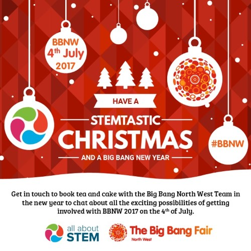 Merry Christmas From All About Stem The Big Bang North West All