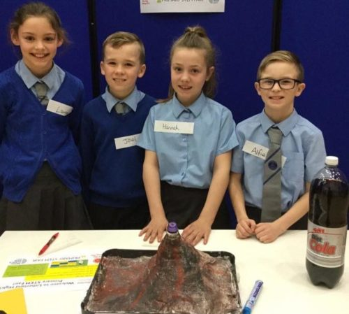 Students Faculty Kick Off Stem Research Week: Big Bang North West: Primary Schools Triumph At The Big