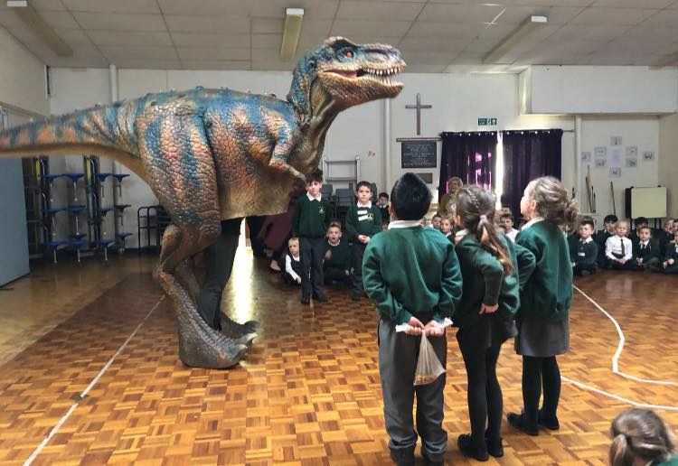 WOW! Dinosaurs in class with Teach Rex!   All About STEMAll About STEM